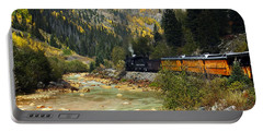 Portable Battery Charger featuring the photograph Silverton Bound by Kurt Van Wagner