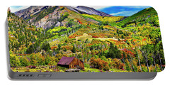 Silverton Fall Colors Colorado Portable Battery Charger