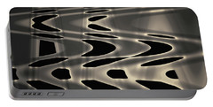 Silvery Abstraction Toned  Portable Battery Charger