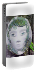 Portable Battery Charger featuring the ceramic art Silvia by Sandy McIntire