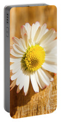 Simple Camomile  In Sunlight Portable Battery Charger