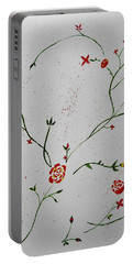 Simple Flowers #1 Portable Battery Charger