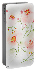 Simple Flowers #2 Portable Battery Charger