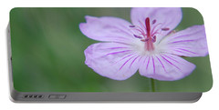Simplicity Of A Flower Portable Battery Charger