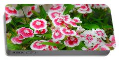Simply Flowers Portable Battery Charger by Rand Herron