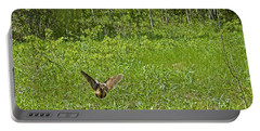 Simulating Wounded Bird To Distract Predators From Her Chicks. Portable Battery Charger