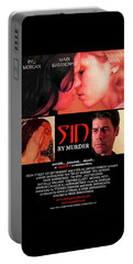 Sin By Murder Poster A Portable Battery Charger