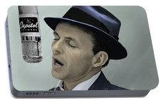 Sinatra - Color Portable Battery Charger by Paul Tagliamonte