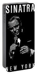 Sinatra The Chairman Of The Board  No Signature Portable Battery Charger