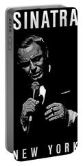 Sinatra Wout Sig Portable Battery Charger by Dan Menta