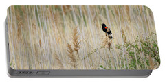 Portable Battery Charger featuring the photograph Sing For Spring Square by Bill Wakeley