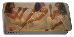 Singers Of Pharaoh Portable Battery Charger