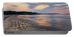 Singing Beach Sandy Beach Manchester By The Sea Ma Sunrise Portable Battery Charger