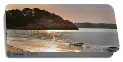 Singing Beach Silver Waves Manchester By The Sea Ma Portable Battery Charger