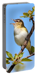 Singing Red-eyed Vireo Portable Battery Charger