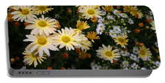 Portable Battery Charger featuring the photograph Single Chrysanthemums by Kathryn Meyer
