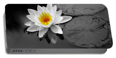 Portable Battery Charger featuring the photograph Single Lily by Shari Jardina