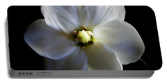 Single Petal Gardenia Portable Battery Charger