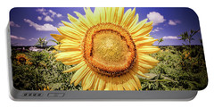 Single Sunflower Portable Battery Charger