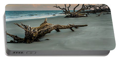 Sunset On Jekyll Island Portable Battery Charger