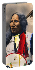 Sioux Chief Portrait Portable Battery Charger
