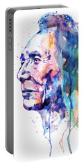 Sioux Warrior Watercolor Portable Battery Charger