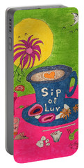 Sip Of Luv Portable Battery Charger