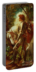 Sir Galahad Portable Battery Charger by George Frederic Watts