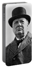 Sir Winston Churchill Portable Battery Charger