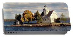 Sister Island Lighthouse Portable Battery Charger