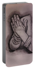 Sisters' Hands Portable Battery Charger by Christy Saunders Church