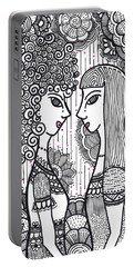 Sisters - Ink Portable Battery Charger