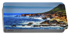 Portable Battery Charger featuring the photograph Sit And Stare Beach by Joseph Hollingsworth