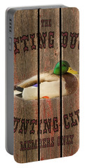 Sitting Duck Hunting Club Portable Battery Charger