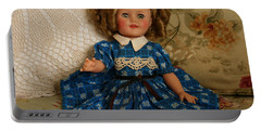 Sitting Pretty Portable Battery Charger by Marna Edwards Flavell