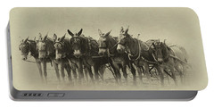 Six Mules, And One More Portable Battery Charger by Nicki McManus