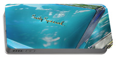Portable Battery Charger featuring the photograph Sixty Special Cadillac by Theresa Tahara