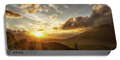 Skagit Valley Sunset Portable Battery Charger