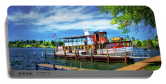 Skaneateles Lake Cruise Boat Portable Battery Charger