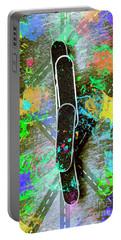 Skating Pop Art Portable Battery Charger