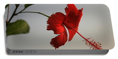Skc 0450 Vibrant Hibiscus Portable Battery Charger