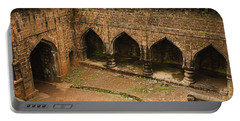 Skc 3278 The Ancient Courtyard Portable Battery Charger by Sunil Kapadia