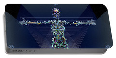 Skeletal System Portable Battery Charger by Iowan Stone-Flowers