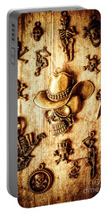 Portable Battery Charger featuring the photograph Skeleton Pendant Party by Jorgo Photography - Wall Art Gallery