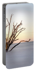 Skeleton Tree In The Ocean Portable Battery Charger