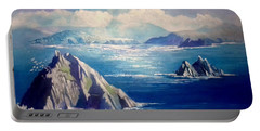Skelligs Ireland Portable Battery Charger by Paul Weerasekera