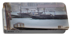 Sketches From Dubai Creek Nbr.2 Portable Battery Charger by Scott Cameron