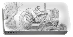 Sketchy Tractor Portable Battery Charger