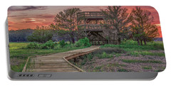 Skidaway Island State Park Overlook Portable Battery Charger by Rob Sellers