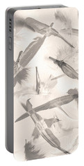 Skies Of A Feather Portable Battery Charger